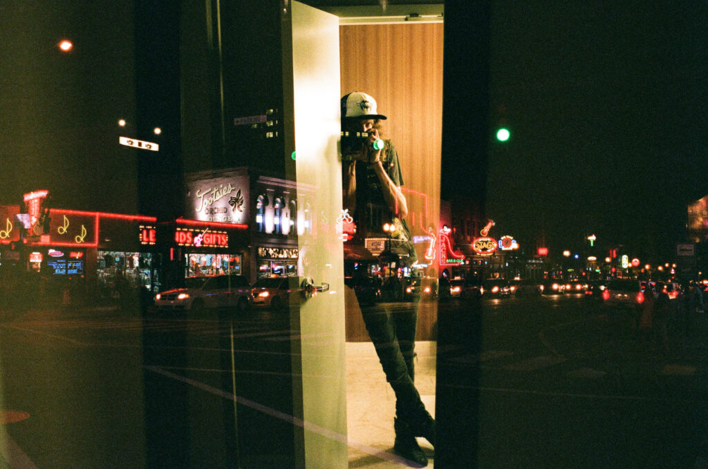 Andy Sapp - Double Exposed Self-Portrait